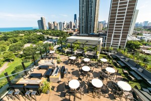 Chicago Rooftop Bars Hotel Lincoln J Parker Rooftop