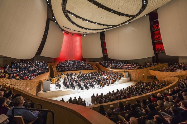 Stanford University, Bing Concert Hall, Location: Stanford CA, Architect: Ennead Architects