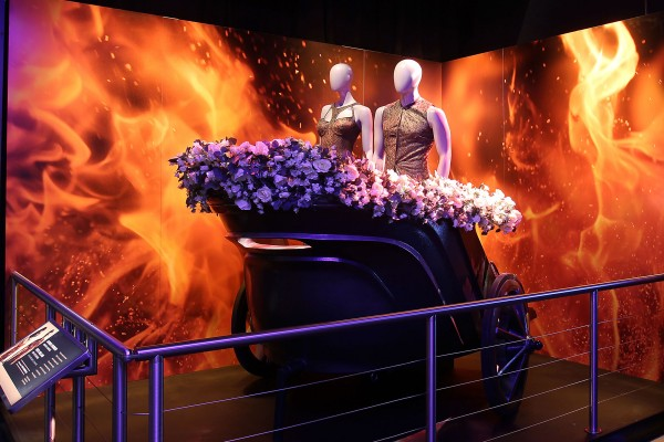 - New York, NY - 6/28/15 - THE HUNGER GAMES: THE EXHIBITION at The Discovery Times Square Opening on July 1st. -PICTURED: Atmosphere -PHOTO by: Marion Curtis/StarPix -FILENAME: MC_15_28830723.JPG -LOCATION: Discovery Times Square Startraks Photo New York, NY For licensing please call 212-414-9464 or email sales@startraksphoto.com Image may not be published in any way that is or might be deemed defamatory, libelous, pornographic, or obscene. Please consult our sales department for any clarification or question you may have. Startraks Photo reserves the right to pursue unauthorized users of this image. If you violate our intellectual property you may be liable for actual damages, loss of income, and profits you derive from the use of this image, and where appropriate, the cost of collection and/or statutory damages.