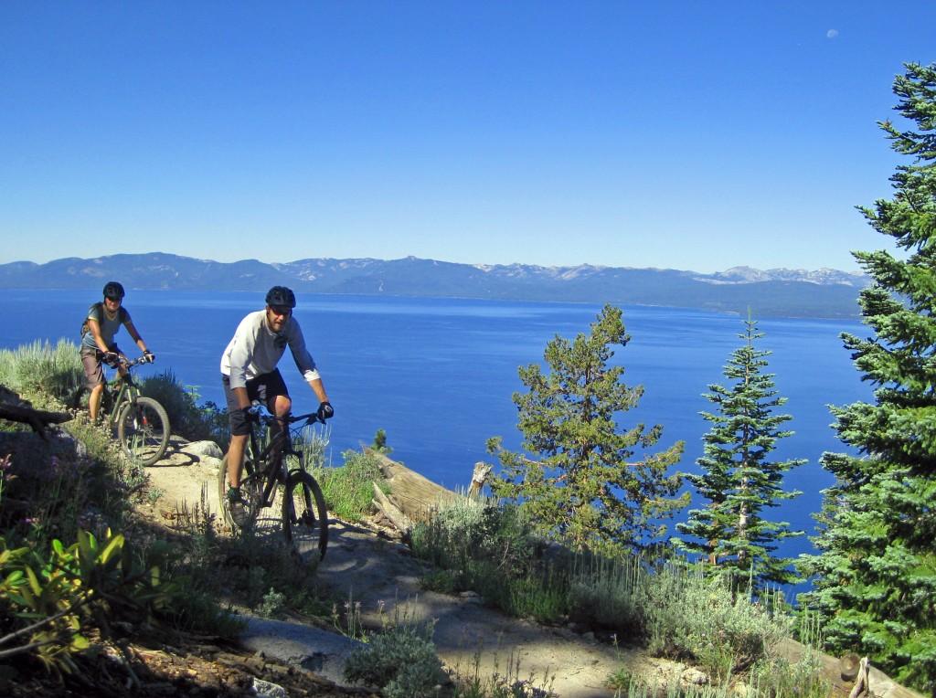 Mountain Biking at Lake Tahoe