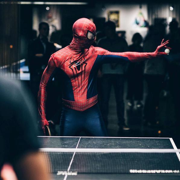Halloween Ping Pong at Spin