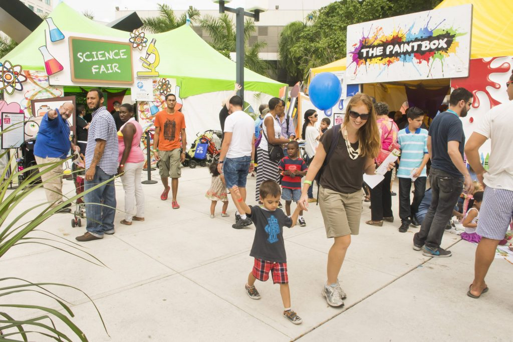 Miami Book Fair activities at the Children's Alley and other related happenings Miami Dade College on November 21, 2015. (Photo by MagicalPhotos.com / Mitchell Zachs)