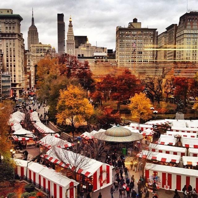 new york city holiday markets