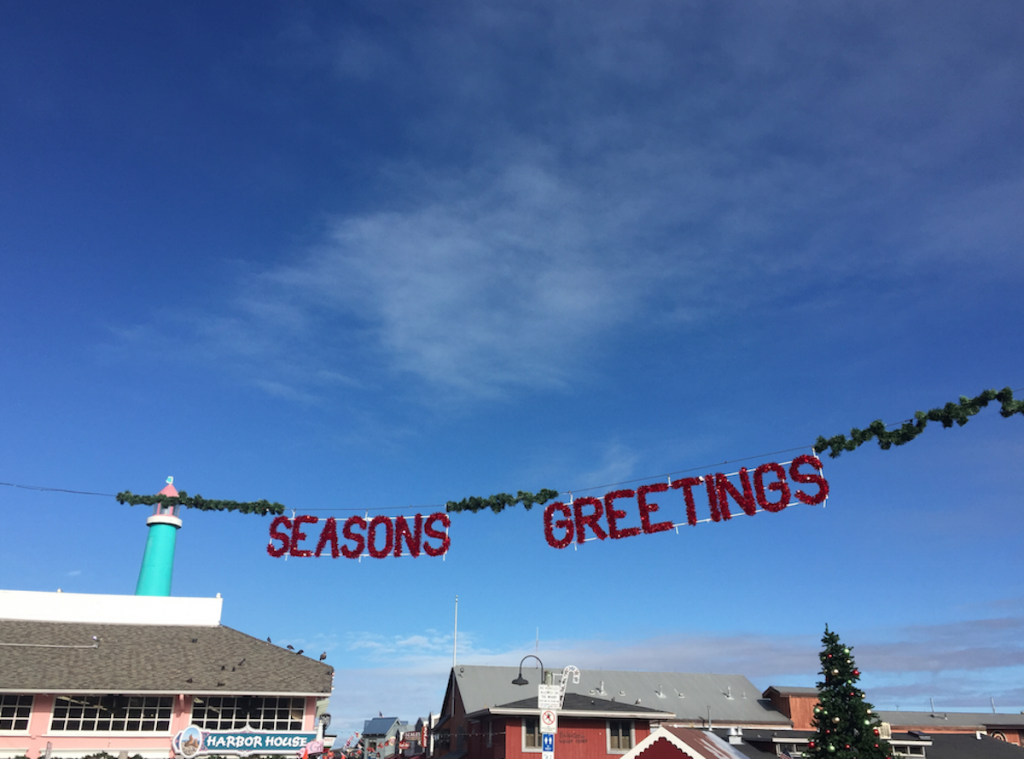 Seasons Greeting from Monterey California