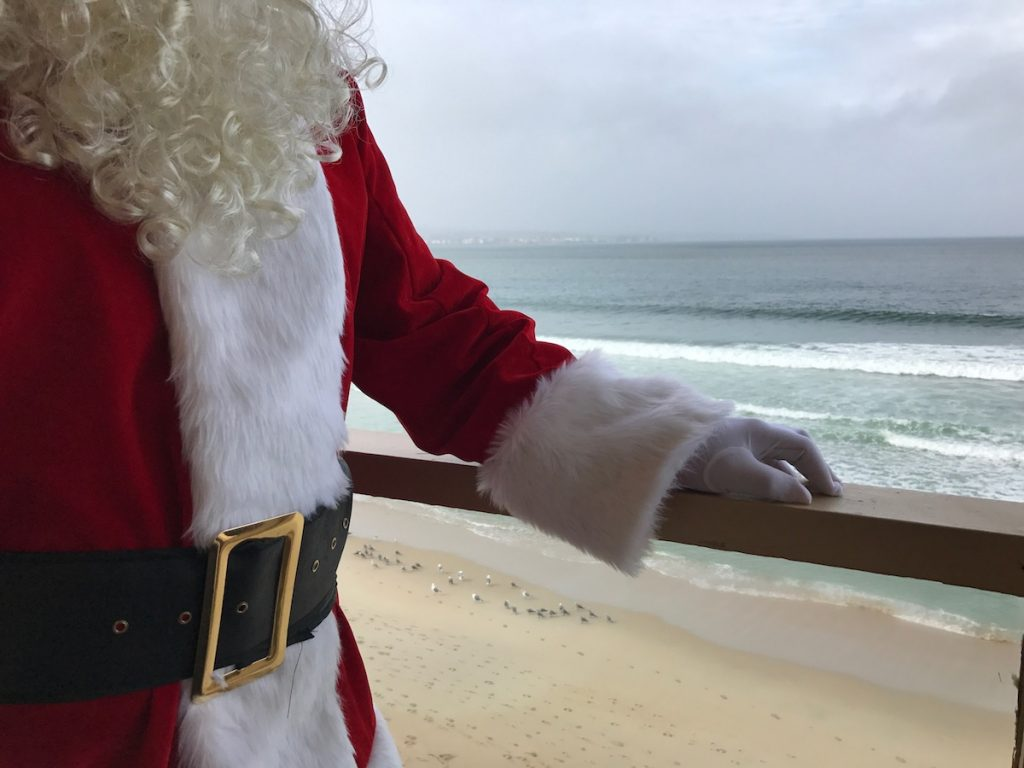 a holiday visitor in Monterey