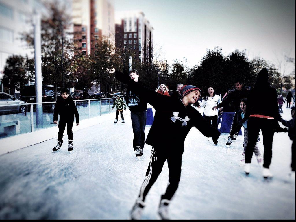 ice skating dc
