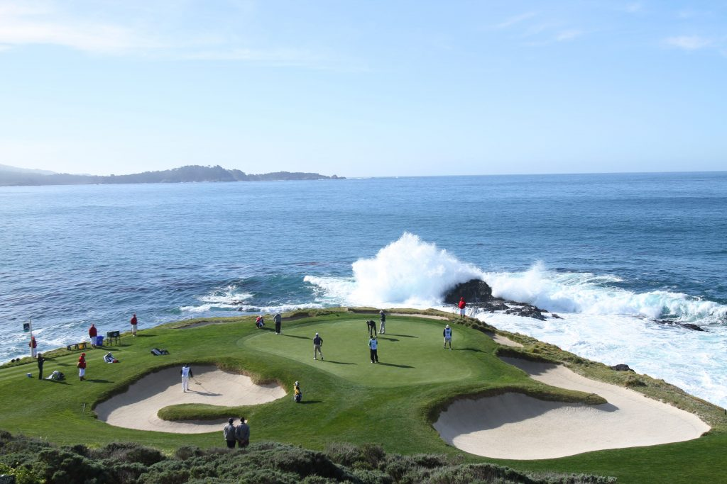 Pebble Beach Pro-Am golf california