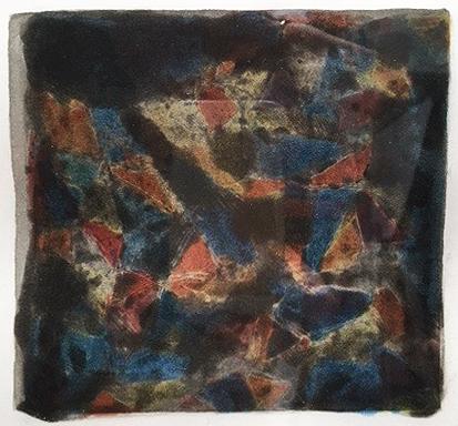 """Sol Le Witt, Four color spit bite aquatint.l.l., 6 x 6 (plate), 12"""" x12 1/3"""", 7/10 Crown Point Press"""