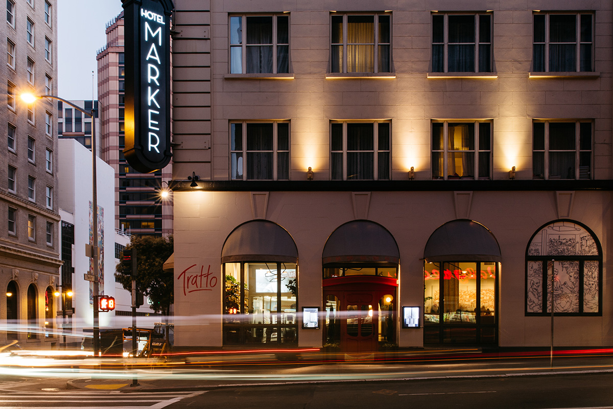 Luxury boutique hotels union square sf the marker san for Finest boutique hotels