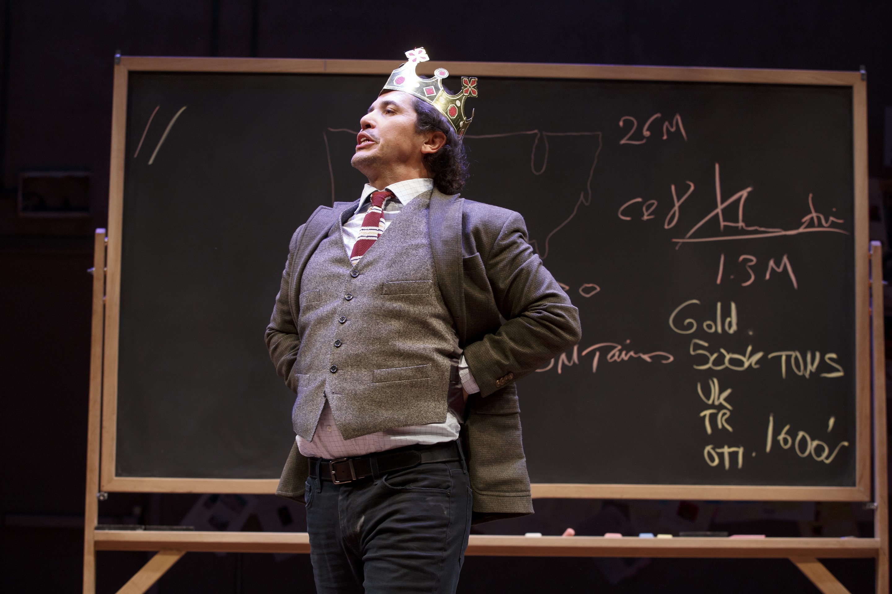 New York Premiere LATIN HISTORY FOR MORONS Written and performed by John Leguizamo Directed by Tony Taccone In a co-production with Berkeley Repertory Theatre Scenic Design: Rachel Hauck Lighting Design: Alexander V. Nichols Original Music and Sound Design: Bray Poor