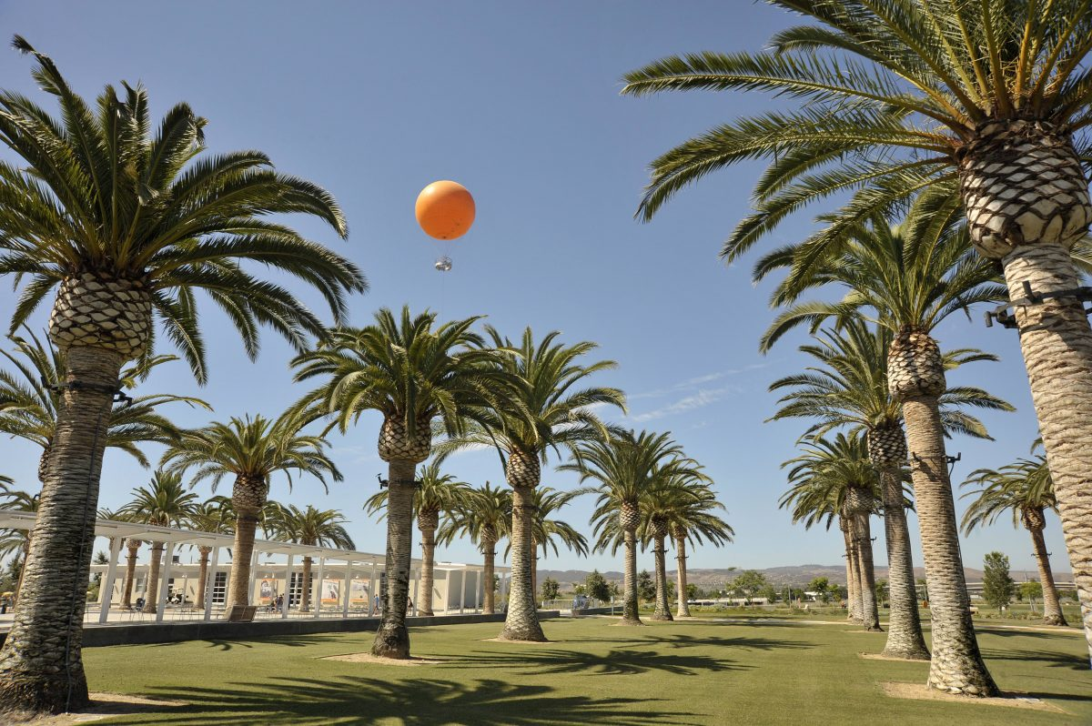 great-park-balloon-above-the-palm-court-arts-complex