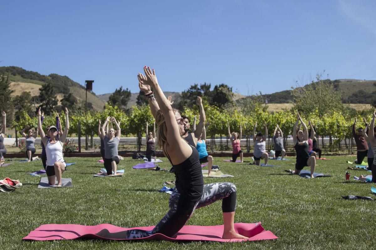 carmel valley winery yoga