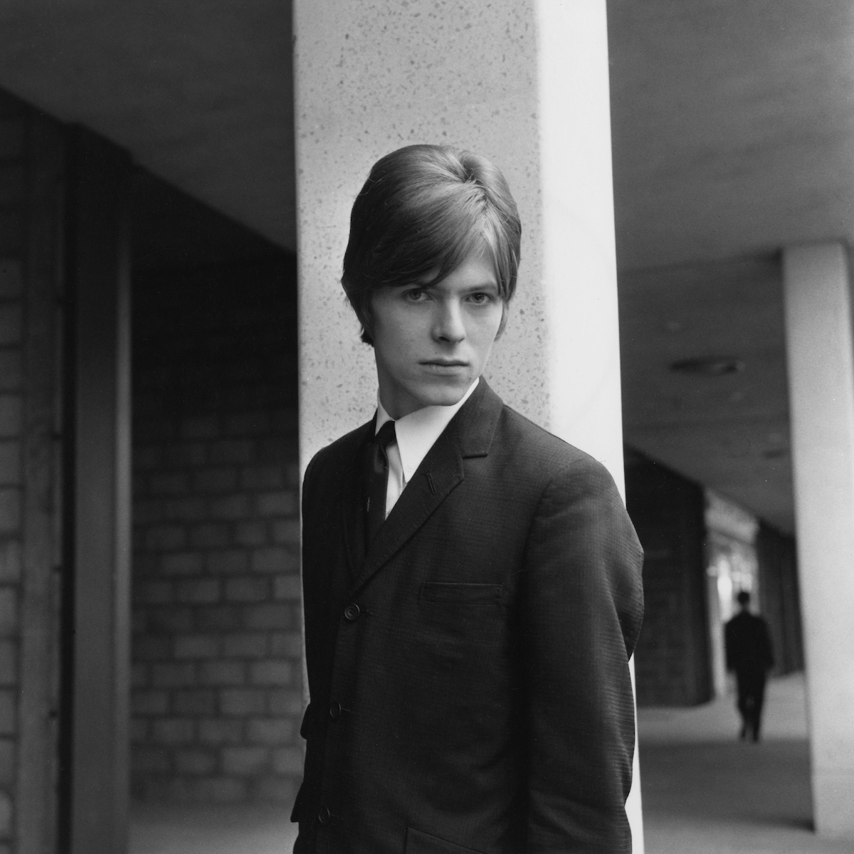David Bowie, 1966. Photograph by Dough McKenzie. Courtesy of The David Bowie Archive